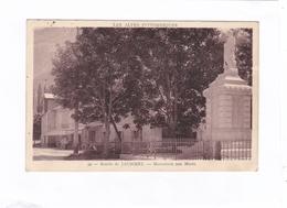 (CPA: 14 X 9)  -  39  -  Entrée De JAUSIERS  -  Monument Aux Morts - France