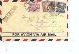 Colombie ( Lettre Par Avion De 1939 De Barranquilla Vers Les USA à Voir) - Colombia