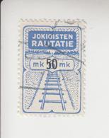 Finland Spoorwegzegel Cat. Hellman Lijn Jokioinen(Jokkis) 28  Gestempeld - Other