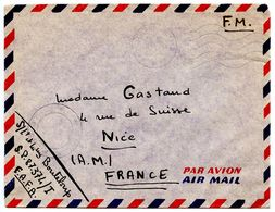 France 1964 Military Cover Poste Aux Armees - S.P. 87.374/I F.A.F.A. - Poststempel (Briefe)