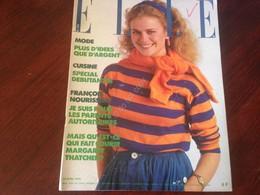 Rivista Magazine Elle France 30 Avril 1979 N.1738 Annie Cordy Jacqueline Dubois - Libros, Revistas, Cómics