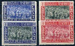 ESPAÑA    Canarias   Nº  52 / 55   Charnela -1029 - Emisiones Nacionalistas