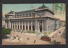 DD / SUISSE / GENÈVE / VUE GENERALE / HÔTEL DES POSTES / TRAMWAY / ANIMÉE / CIRCULÉE EN 1910 - GE Genève