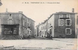 THENEZAY - ( 79 ) - L'avenue De La Gare - Thenezay