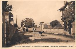 THENEZAY - ( 79 ) -  Route De La Ferriére - Thenezay