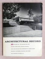 Rivista Architettura - Architectural Record N° 10 Ottobre 1965 - Libri, Riviste, Fumetti