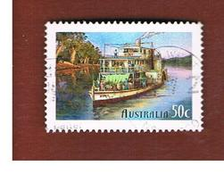 AUSTRALIA  -  SG 2315  - 2003 SHIPS: PADDLE STEAMER ADELAIDE               -       USED - Usati