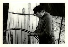 35 - SAINT-BRICE-EN-COGLES - Fête Du Cidre - Compagnon Fabricant Un Tonneau - 1987 - Carte Moderne - Autres Communes