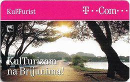 Croatia - Hrvatski Telekom - Kulturizam Na Brijunima - Exp. 12.2007, 20.000ex, Used - Croatia