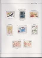 COLECCIÓN DE SELLOS DE ESPAÑA DESDE 1985/1990 (INCLUSIVE) - 1931-Hoy: 2ª República - ... Juan Carlos I
