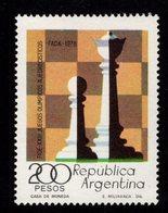 604719094 ARGENTINA  SCHAAK CHESS SCHACH ECHEC  SCOTT 1200 - Argentine