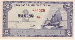 BILLETE DE VIETNAM DE 2 DONG DEL AÑO 1955  (BANKNOTE) SIN CIRCULAR-UNCIRCULATED - Vietnam
