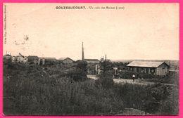 Gouzeaucourt - Un Coin Des Ruines - Animée - Edit. RIBAUX - Cliché SIBY - 1921 - Marcoing
