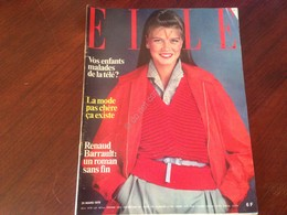 Rivista Magazine Elle France 26 Mars 1979 N.1733 Renaud Barrault Simone Benmussa - Libros, Revistas, Cómics