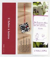 Lot De 10 Marque-page L'arbre à Lettres (3 Images) - Marque-Pages