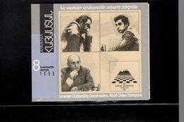 604722322 ARMENIE  SCHAAK CHESS SCHACH ECHEC  SCOTT 538A BOOKLET - Arménie