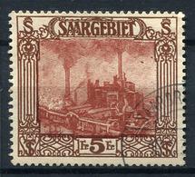 41623) SAAR # 97 Gestempelt Aus 1922, 55.- € - 1920-35 Saargebiet – Abstimmungsgebiet
