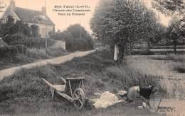 CPA, Bois D' Arcy 78390, Le Chemin Des Commun,es La Mare Du Pressoir - Bois D'Arcy