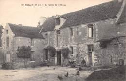 CPA, Osny 95520 Dans Le Val-D'Oise La Ferme De La Groue - Osny