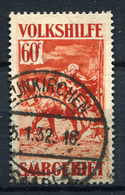 41627) SAAR # 152 Gestempelt Aus 1931, 45.- € - 1920-35 Société Des Nations