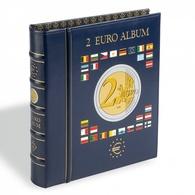 Leuchtturm Ringband Optima Voor 2 Euro Munten + Cassette - Supplies And Equipment