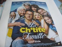 Affiche Cinéma Neuve 40x53 . La Ch'tite Famille . Comédie De Dany Boon. - Other Collections