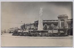 Téhéran TEHRAN  PLACE CHAH Statue Soldier   About 1940y.    E318 - Irán