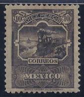 MEXICO 1895 - Yvert #145 Error Impreso En Negro - MH * !Raro! - Mexico