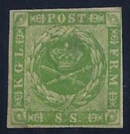 DINAMARCA 1854/64 - Yvert #5 - MLH * - 1851-63 (Frederik VII)