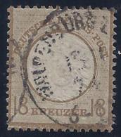 ALEMANIA IMPERIO 1872 - Yvert #25 -  VFU ¡Muy Raro En Usado! - Usados