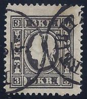 AUSTRIA 1858/59 - Yvert #12 - VFU - 1850-1918 Imperio