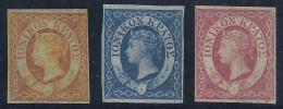 GRECIA/IONIENNES 1859 - Yvert #1/3 - MLH * - Islas Ionian