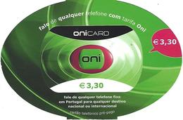 ONICARD €3,30 - (Not Used) - Portugal - Portugal