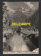 DF / 38 ISÈRE / BOURG D' OISAN / LA RIVE ET LE MASSIF DE BELLEDONNE - Bourg-d'Oisans