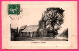 Gouzeaucourt - L'Eglise - Animée - Edit. RIBAUX - 1911 - Embossed - Marcoing
