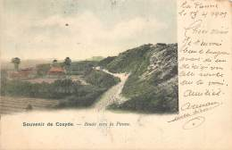 Environs De Coxyde - Route Vers La Panne - Koksijde