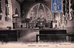 CPA 80 SENARPONT Eglise Intérieur - France