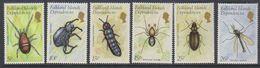 Falkland Islands Dependencies 1982 Insects 6v ** Mnh (39453C) - Zuid-Georgia