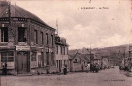 CPA 80 SENARPONT La Poste - France