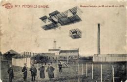 Peronnes-Binche - Champs D' Aviation ( Du 30 Avril Au 15 Mai 1911 )  - Edit. Marcovici N° 2 - Binche