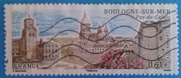 France 2014 : Série Touristique, Boulogne Dur Mer N° 4862 Oblitéré - Gebraucht