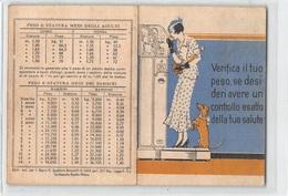 """0144  """"GIOIA DI VIVERE E SALUTE - COMPRESSE ASPIRINA E ELMITOLO - CONTROLLA IL TUO PESO""""  CARTONCINO PUBBL. - Publicités"""