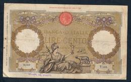 100 LIRE ROMA GUERIERA 17 06 1935  LOTTO 1606 - 100 Liras