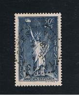 1. Juli 1937 Nansen-Fond Michel 457 Sehr Gut Gestempelt O - France