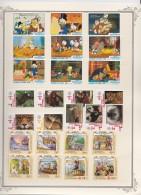 St  Vincent & Grenadines    .           Page With Stamps    ,    **     .    MNH   .  /   .   Postfris - St.-Vincent En De Grenadines