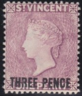 St  Vincent     .       SG    .      63     ,       Mint-hinged   .  /   .   Ongebruikt Met Plakker - St.Vincent (...-1979)