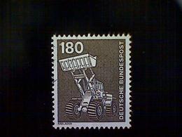 Germany, Scott #1186, Used (o), 1975, Industrial Scenes: Bucket Loader, 180pfs, Olive Brown - [7] Federal Republic