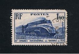 1. Juli 1937 Nansen-Fond Michel 346   Gestempelt O - Gebraucht