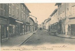 01 // CHATILLON SUR CHALARONNE    Le Grand Faubourg - Châtillon-sur-Chalaronne
