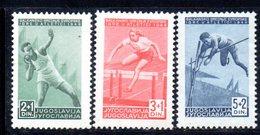 YUG66E - YUGOSLAVIA 1948,  Unificato N. 502/504  Nuovi  *** - 1945-1992 Repubblica Socialista Federale Di Jugoslavia